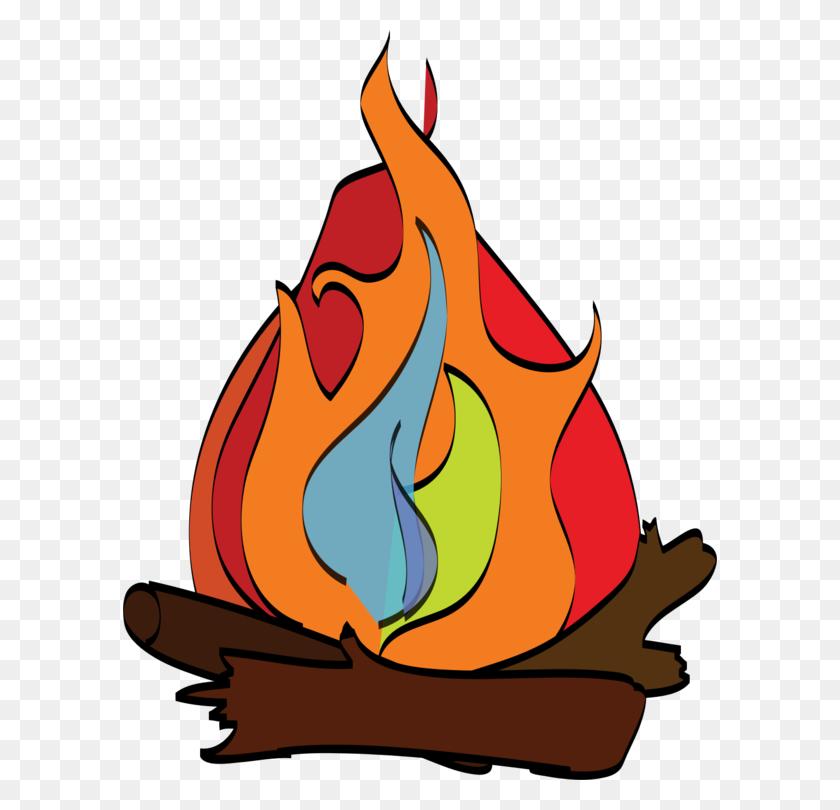 594x750 S'more Campfire Camping Bonfire Download - S Clipart
