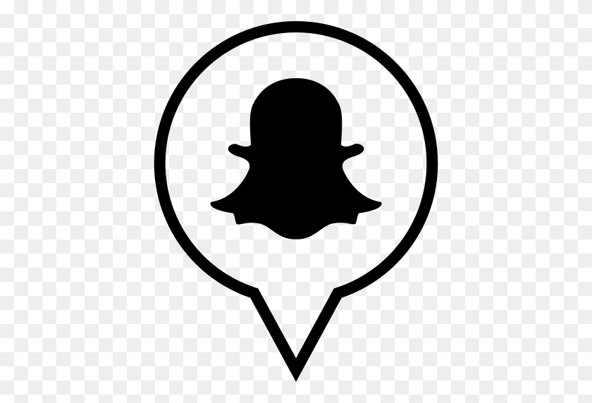 Snapchat Filters Clipart Black And White - White Snapchat