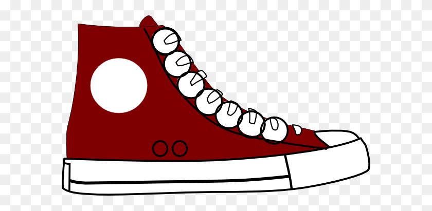 600x351 Sneaker Clip Art - Art Gallery Clipart