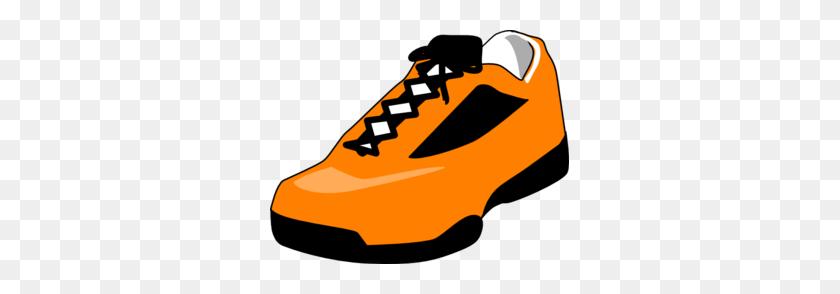 Sneaker Orange Shoe Clip Art - Sneaker Clipart