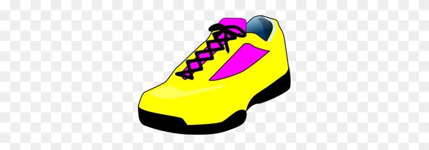 Sneaker Yellow Shoe Clip Art - Sneaker Clipart
