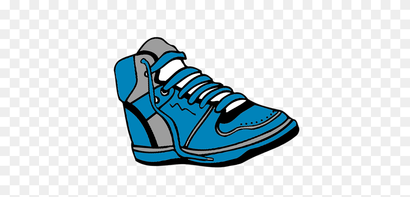 Sneakers Clipart Annual Day - Tying Shoes Clipart