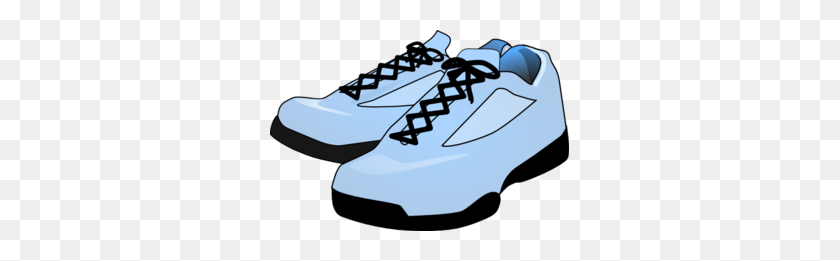 Sneakers Clipart Blue Shoe - Mickey Mouse Shoes Clipart