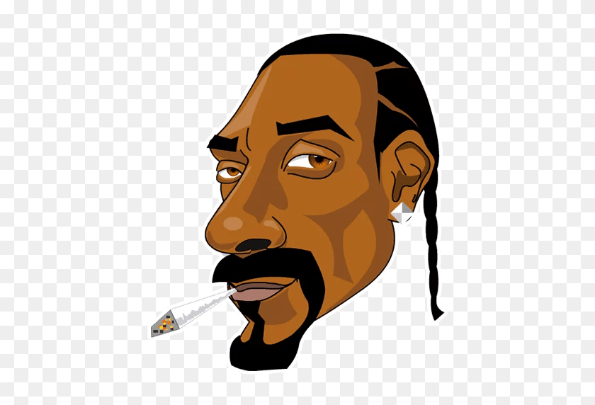Snoop Stickers Set For Telegram - Snoop Dogg PNG