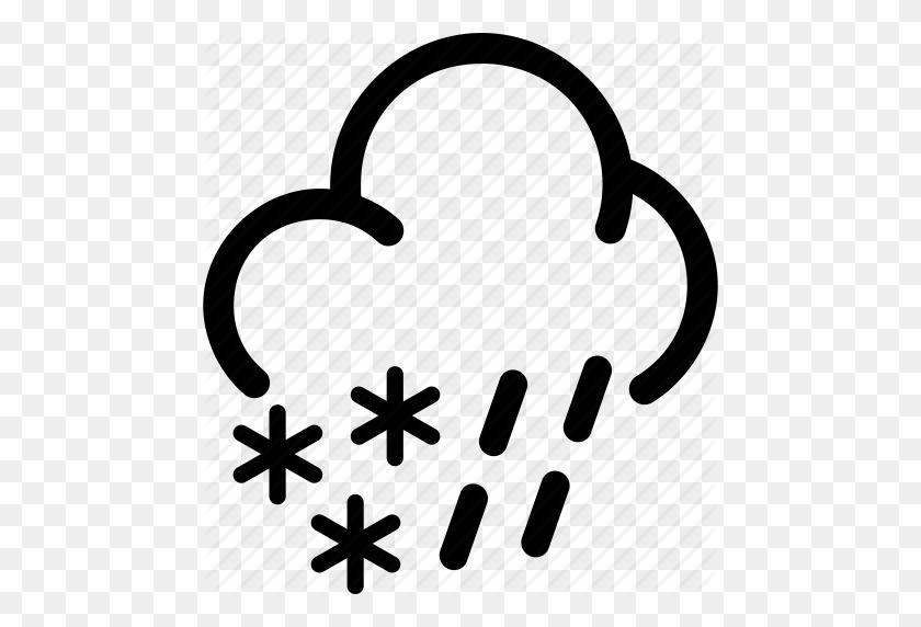 Snow Cloud Png Black And White Transparent Snow Cloud Black - Snow Clipart