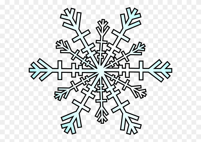 Snow Flakes Clip Art Snowflake Clip Art - Simple Snowflake Clipart