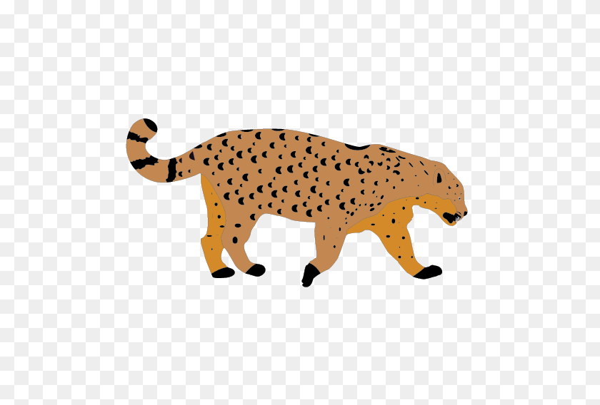Snow Leopard Clipart Clip Art - Leopard Print Clipart