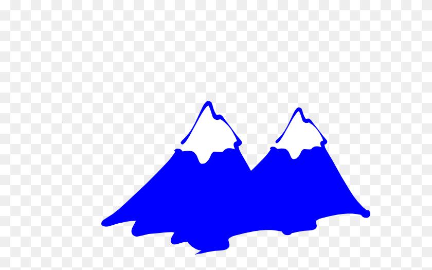 Snow Mountain Clipart - Snowy Mountain Clipart