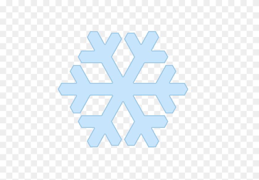 Snowflake Clip Art Easy - Simple Snowflake Clipart
