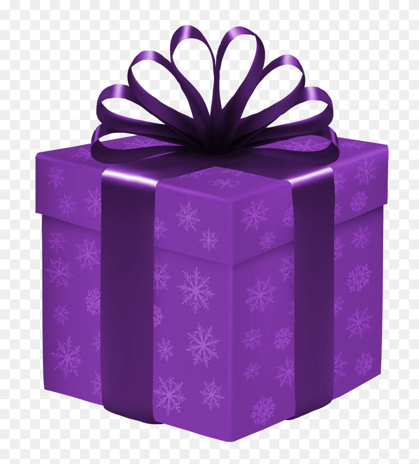 Snowflake Clipart Dark Purple - Snowflake Clipart Free Download
