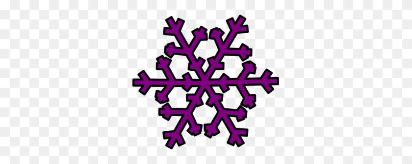 Snowflake Clipart Purple Snowflake Clip Art Clip Art - Snowflake Clipart Transparent