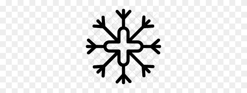 Snowflake Icon - Snowflakes Falling Clipart