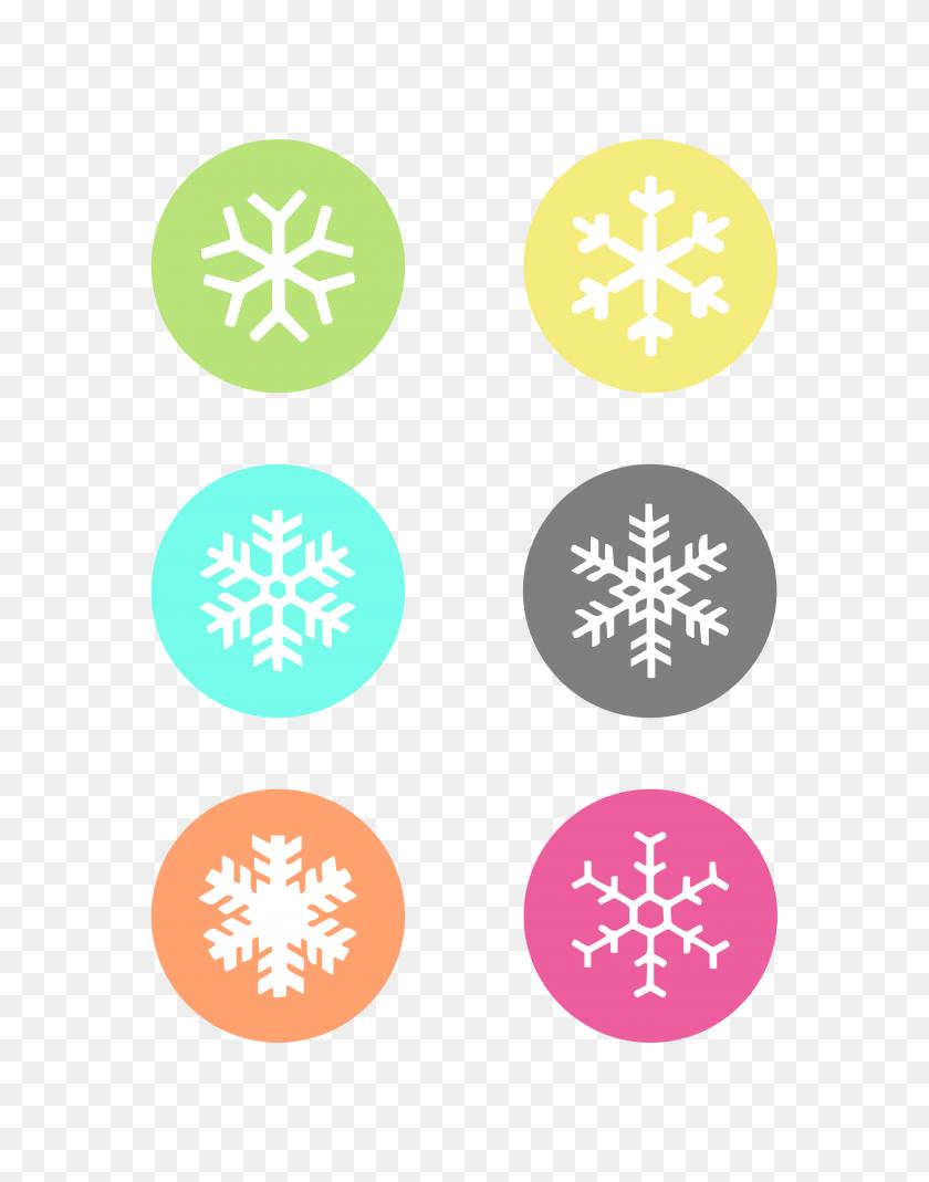 Snowflake Label Cliparts Free Download Clip Art - Snowflake Clipart Free Download