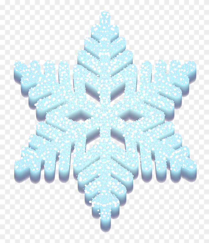 Snowflake Png Clip Art - Silver Snowflake Clipart