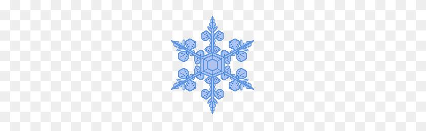 Snowflakes Clip Art At Clipart Guru - Simple Snowflake Clipart