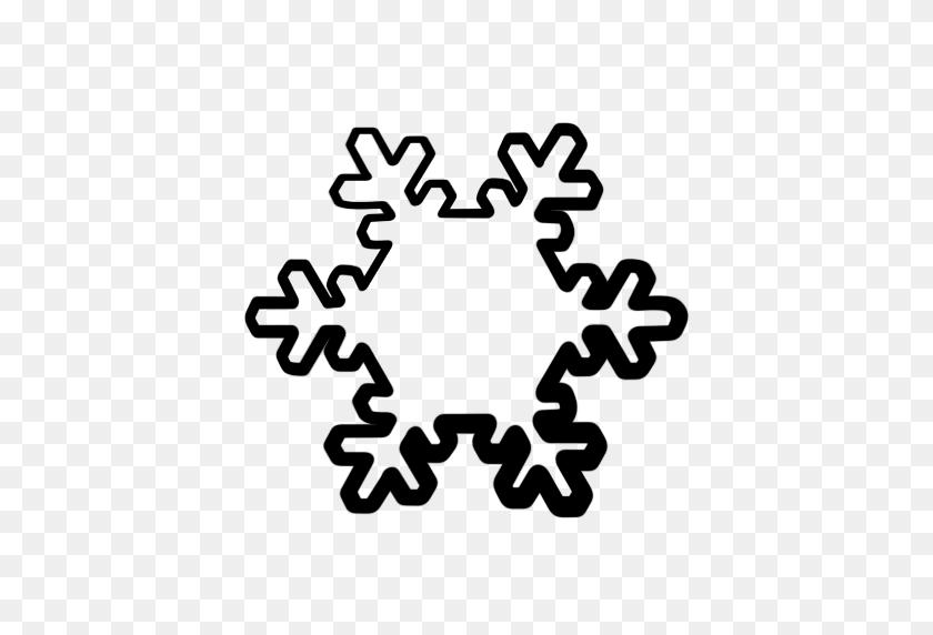 Snowflakes Clipart Icon - Snowflakes PNG Transparent