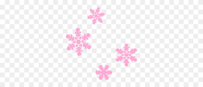 Snowflakes Transparent Borders - Snowflake Border PNG