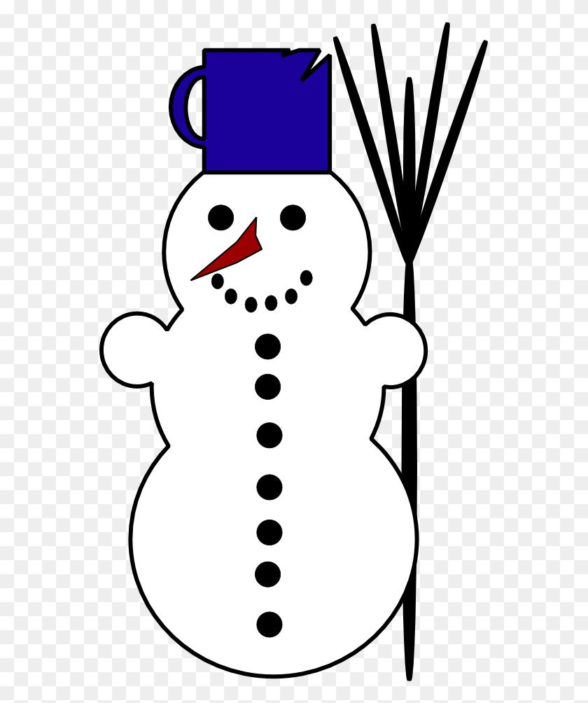 Snowman Clipart For Printable Snowman Clipart - Snowman Clip Art
