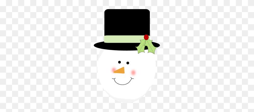 Snowman Hat Clipart - Top Hat Clipart