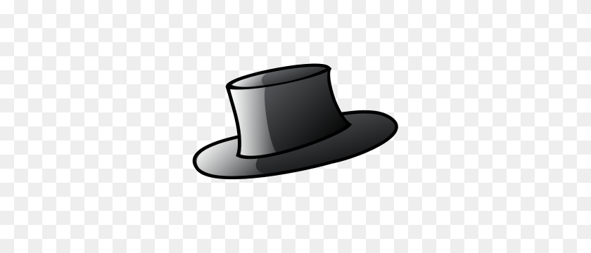 Image Not Found Or Type Unknown - Top Hat Coloring Page Clipart - Full Size  Clipart (#842935) - PinClipart