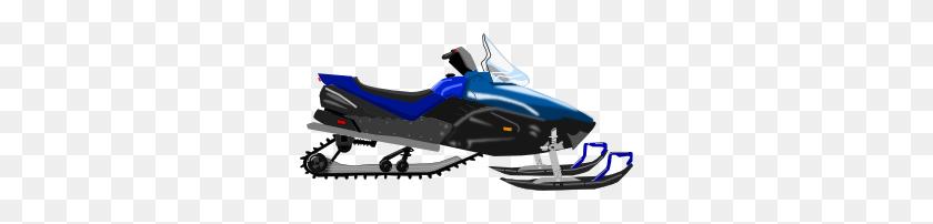 Snowmobile Clip Art - Snowmobile Clipart