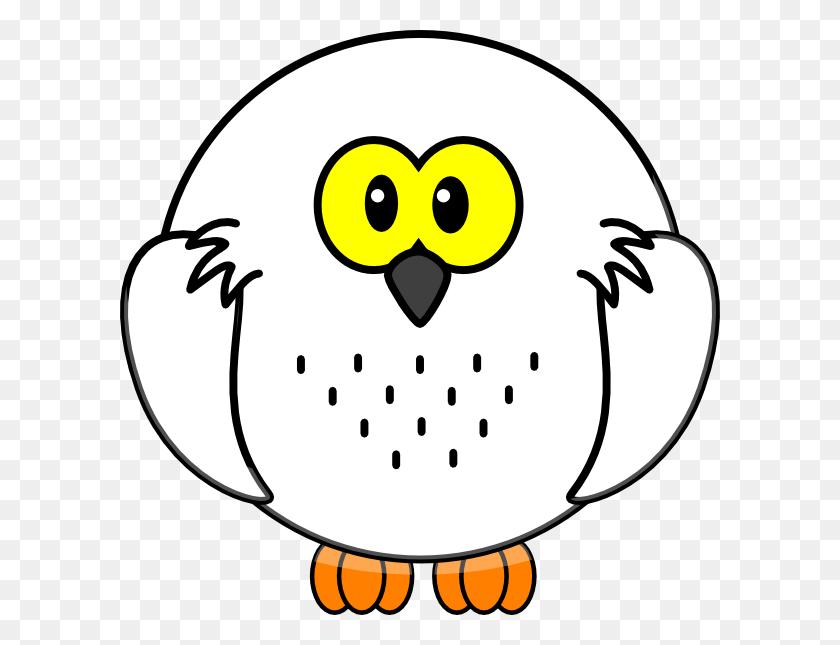 Snowy Owl Clip Art - Snowy Clipart