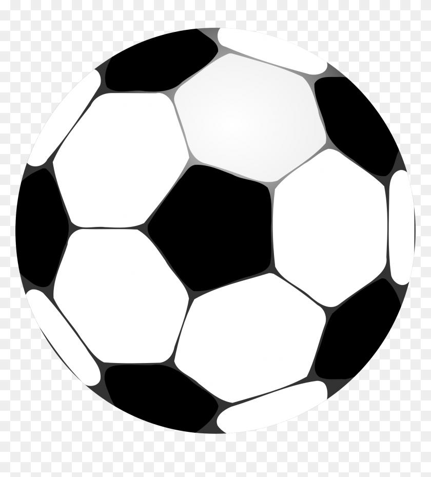 Soccer Ball Clip Art - Mat Clipart