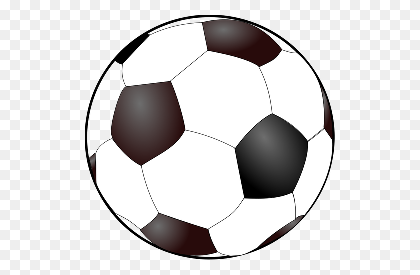 Soccer Ball Clip Art Outline White - Neptune Clipart