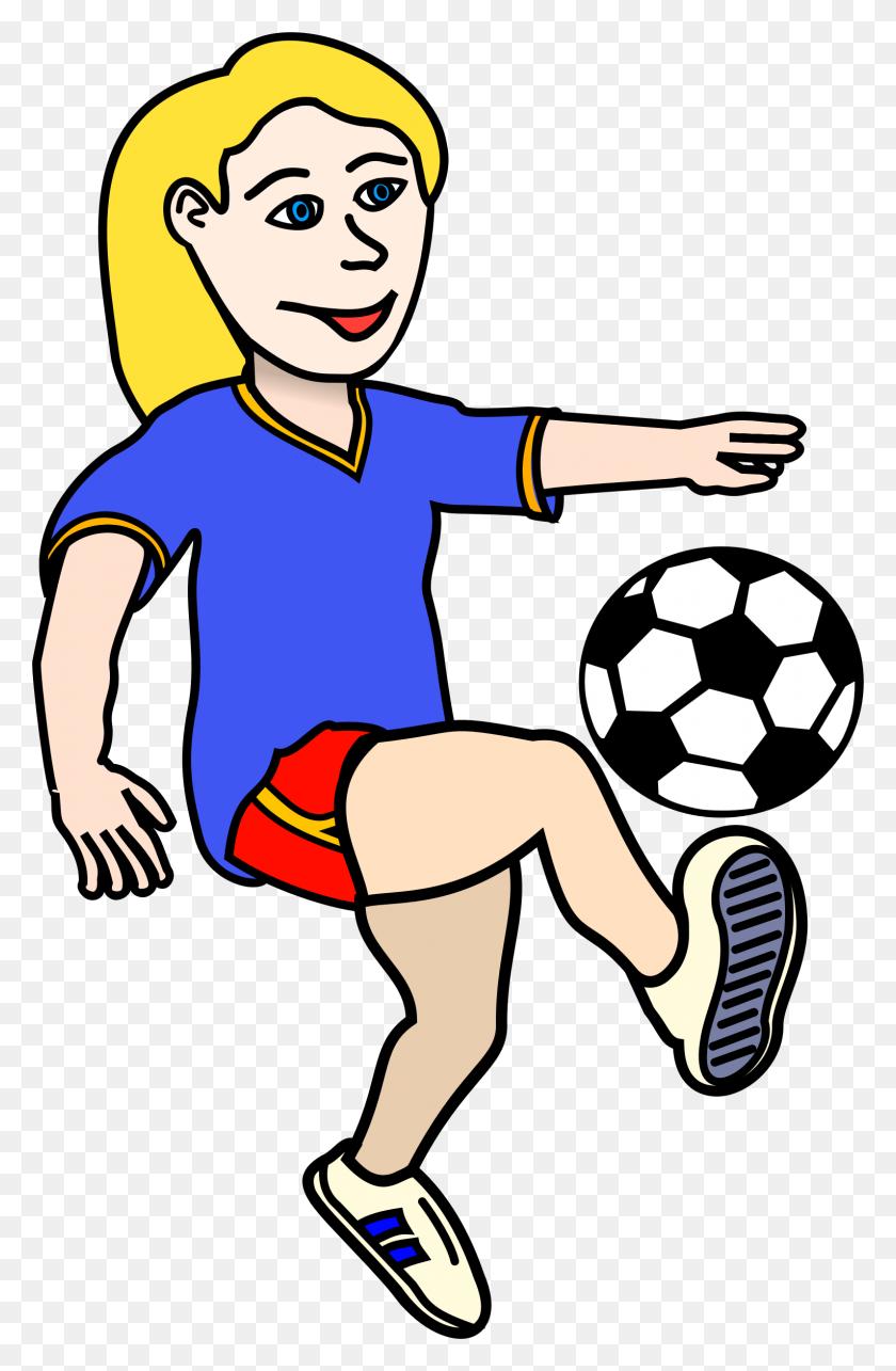 Soccer Clipart Girl - Football Goal Post Clipart