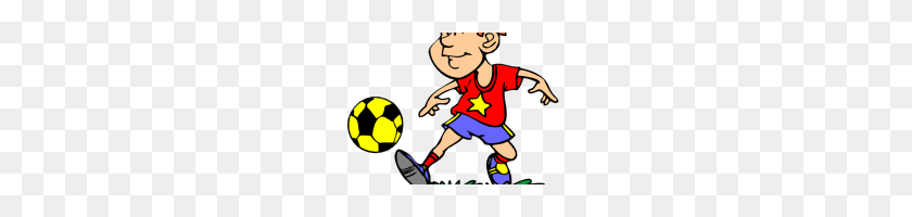 Soccer Player Images Clip Art Image Of Soccer Player Clipart - Boy Playing Soccer Clipart