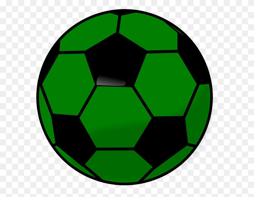 Soccerball Clip Art At Clkercom Vector Online - Soccer Ball Clipart PNG