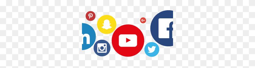 Social Media Icons Clipart Social Reach - Social Media Icons PNG