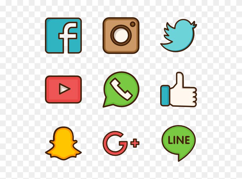 Social Media Png Transparent Social Media Images - Network PNG