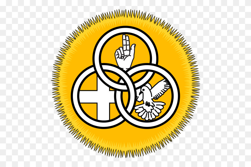 Society Of Our Lady Of The Most Holy Trinity Badge - Trinity Clipart