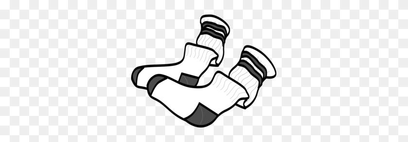 Socks Clip Art - Looking Through Binoculars Clipart