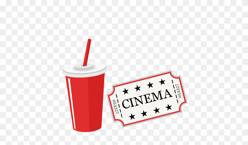 Soda Clipart Clipartimage - Movie Night Clipart