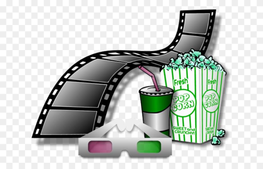 Soda Clipart Movie Popcorn - Movie And Popcorn Clipart