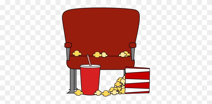 Soda Clipart Movie Theater - Movie Night Clipart