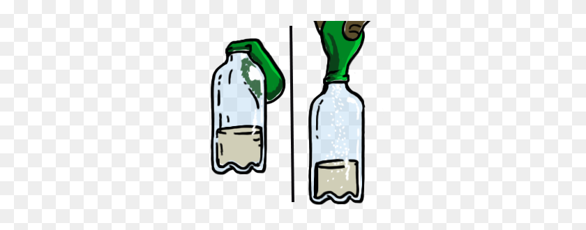 Soda Clipart Vinegar - Soda Bottle Clipart