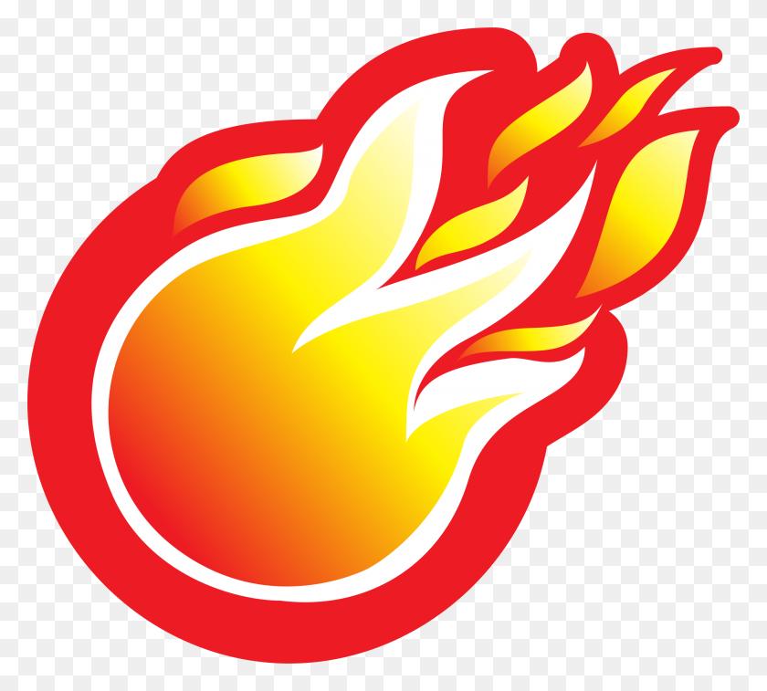 Softball Clipart Flame, Softball Flame Transparent Free - Softball Clipart Transparent