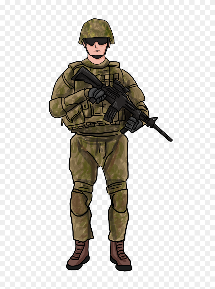 Soldiers Clipart - Military Helmet Clipart