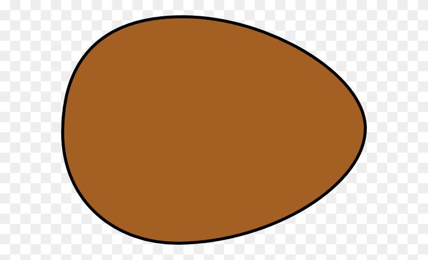 Solid Brown Egg Clip Art - Egg Carton Clipart