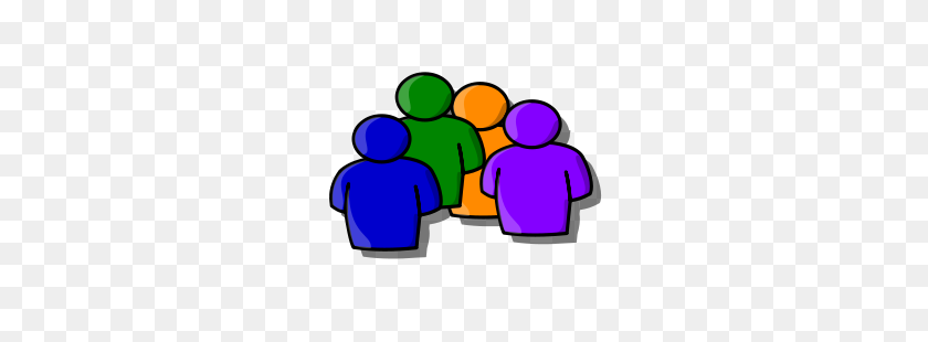 Someone Making Friends Clipart - Making Friends Clipart