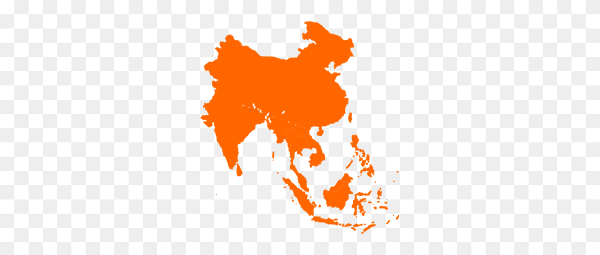 279x298 Southeast Asia Png Clip Arts For Web - Asia PNG
