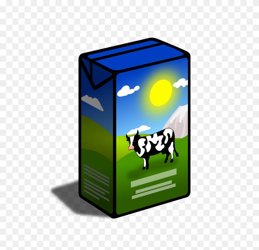 Soy Milk Breakfast Chocolate Milk Carton - Milk Carton PNG