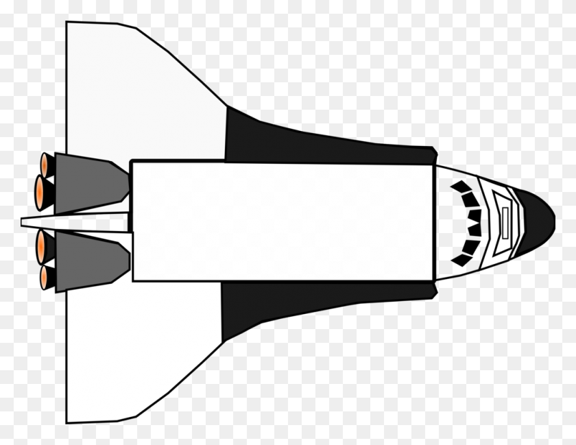 Cartoon Space Ship - Space Shuttle Clip Art - Free Transparent PNG Clipart  Images Download