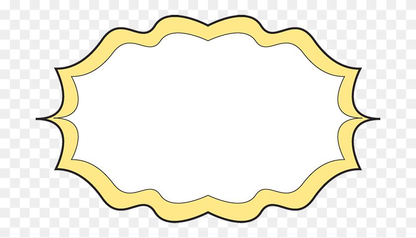 Spaghetti Clipart Fun Frame - Clipart Frames And Borders