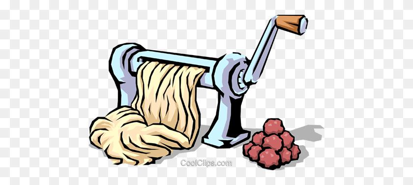 Spaghetti Meatballs Royalty Free Vector Clip Art Illustration - Spaghetti And Meatballs Clipart