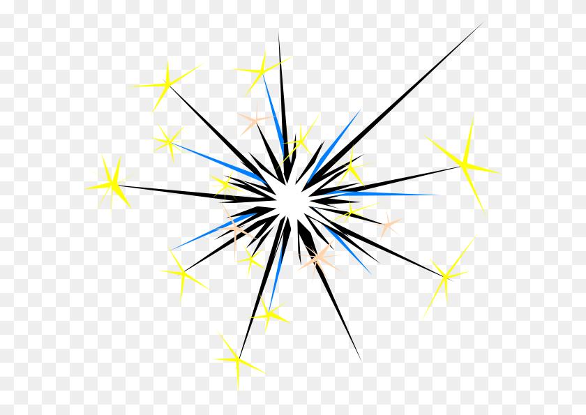 600x535 Sparks Clip Art - Spark Clipart