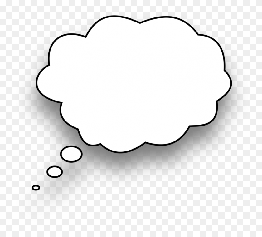 Speech Balloon Thought Download Line Art Bubble - Mouth Speaking Clipart